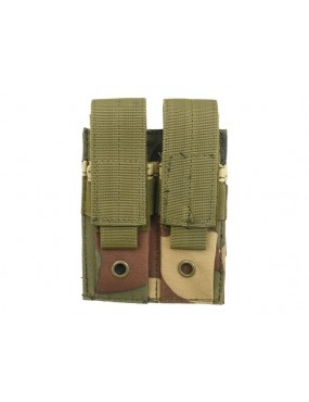 Double Pouch Pistol Mag - Woodland [8Fields]