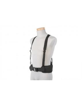 Belt w/ X Type Suspenders - Preto [GFC]