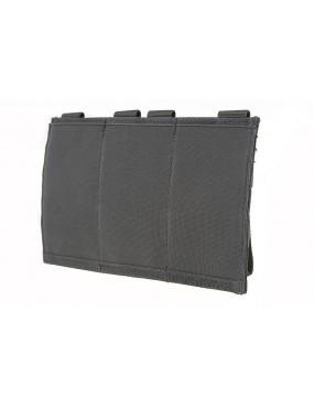 Elastic Pouch Triple M4/M16 Mag - Tan [GFC]