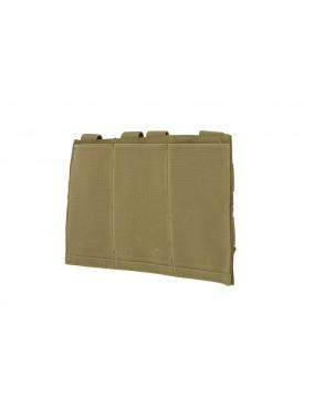 Elastic Pouch Triple M4/M16 Mag - Olive Drab [GFC]