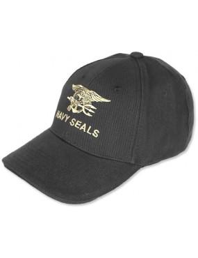 Baseball Cap Navy Seals - Preto