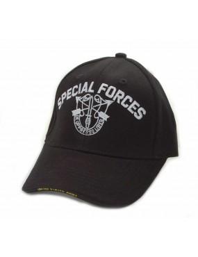Baseball Cap Special Forces - Preto