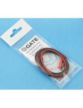 Low Resistance Wire 2x 60cm [GATE]