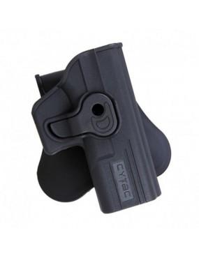 Polymer Holster - Glock 19/23/32 - Preto [CYTAC]