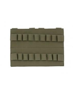Vertical Shotgun Shell Panel 18-Round - Olive [8Fileds]