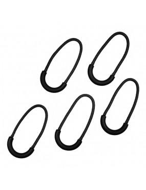 Zipper Ring Puller Bag - Preto [101INC]