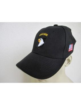 Baseball Cap 101ST Airbone - Preto