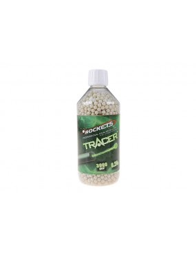 0,20g - 3000bbs - Garrafa - Tracer [Rockets Professional]