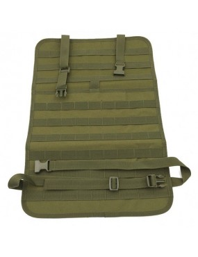 Painel MOLLE Assento Carro - Olive