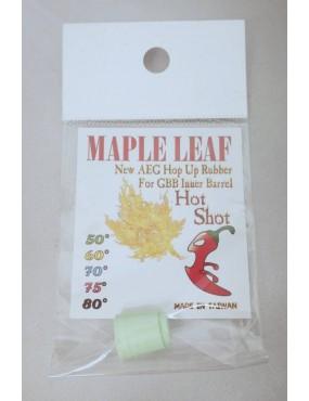 Hop Up Rubber - Hot Shot 50º [Maple Leaf]
