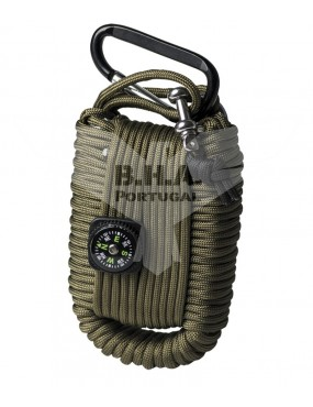 Paracord Survival Kit Large - OD [Miltec]