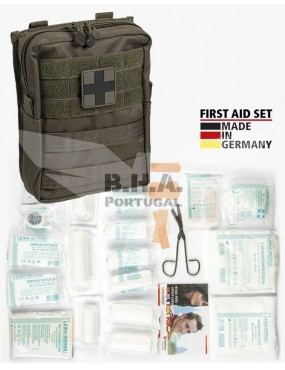 First Aid Set Large - 43 Pieces - OD [Miltec]