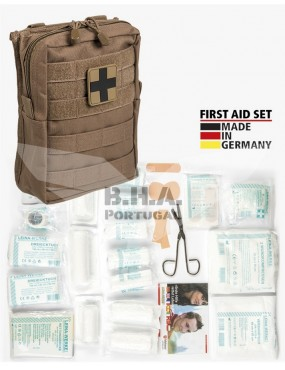 First Aid Set Large - 43 Pieces - Dark Coyote [Miltec]