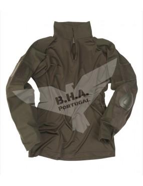 Shirt Tactical Warrior - OD [Miltec]
