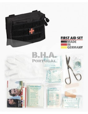 First Aid Set Small - 25 Pieces - Preto [Miltec]