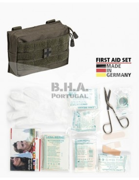 First Aid Set Small - 25 Pieces - OD [Miltec]