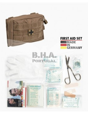 First Aid Set Small - 25 Pieces - Dark Coyote [Miltec]