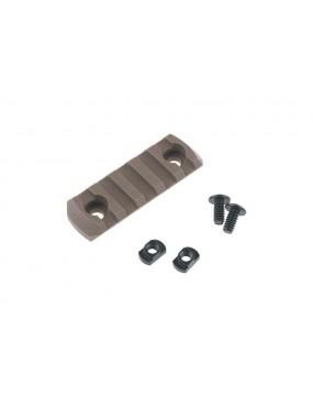 M-LOK 5 Slot Polymer Rail - Coyote Brown [TMC]