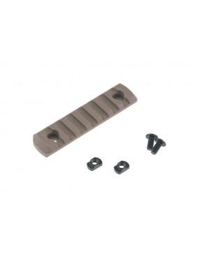 M-LOK 7 Slot Polymer Rail - Coyote Brown [TMC]