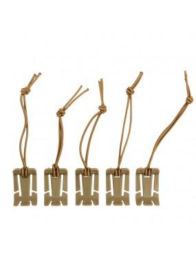 Molle Elastic Binder - 5 pack - OD [101INC]