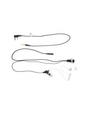 FBI Style Acoustic Headset Kenwood [Z-Tac]