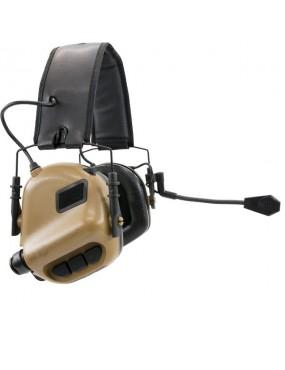 M32 Hearing Protection Ear-Muff - Coyote Brown [Earmor]