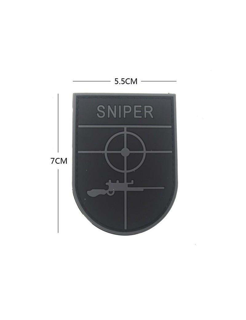 Patch Sniper - Preto/Cinza
