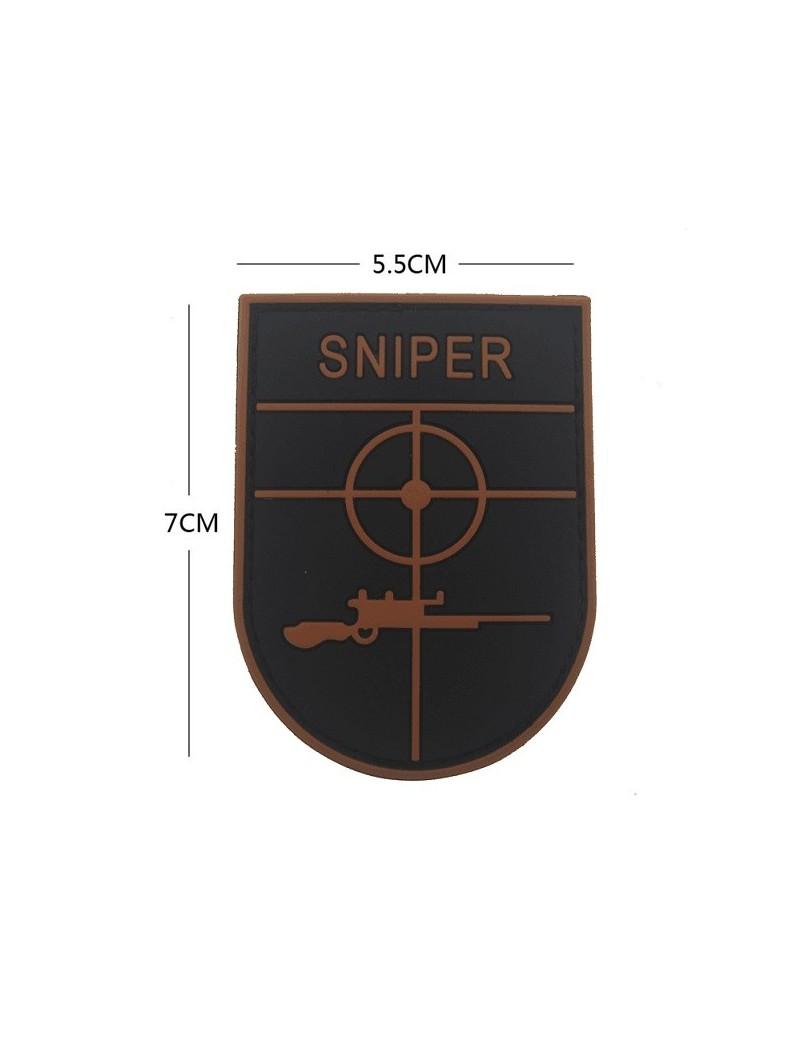 Patch Sniper - Preto/Castanho