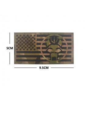 Patch Logo Seal Team & USA Flag