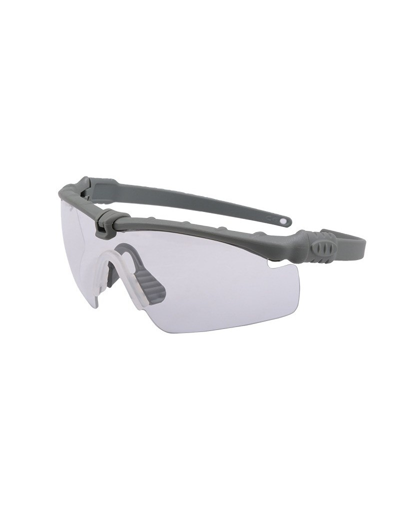 Tactical Glasses - Gray / Clear [Ultimate Tactical]