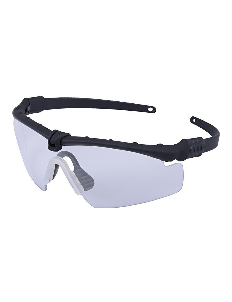 Tactical Glasses - Black / Clear [Ultimate Tactical]