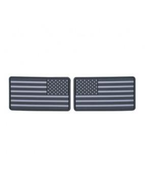 USA Flag Large - Set 2pcs - Grey [Helikon Tex]