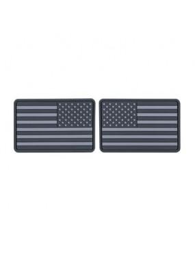USA Flag Small - Set 2pcs - Grey [Helikon Tex]