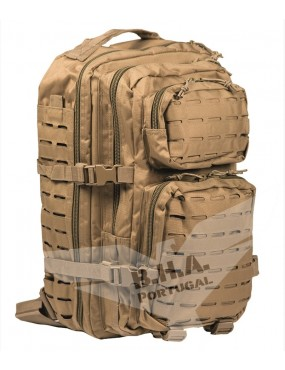 US Laser Cut Assault BackPack Large - Coyote [Miltec]