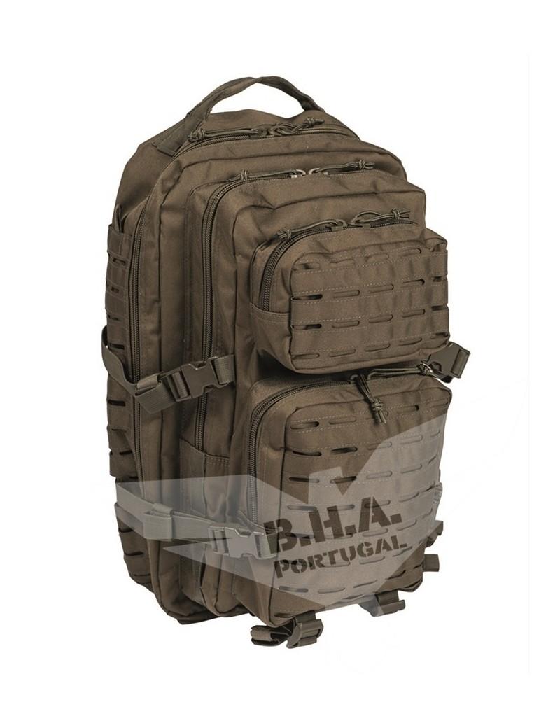 US Laser Cut Assault BackPack Large - OD [Miltec]