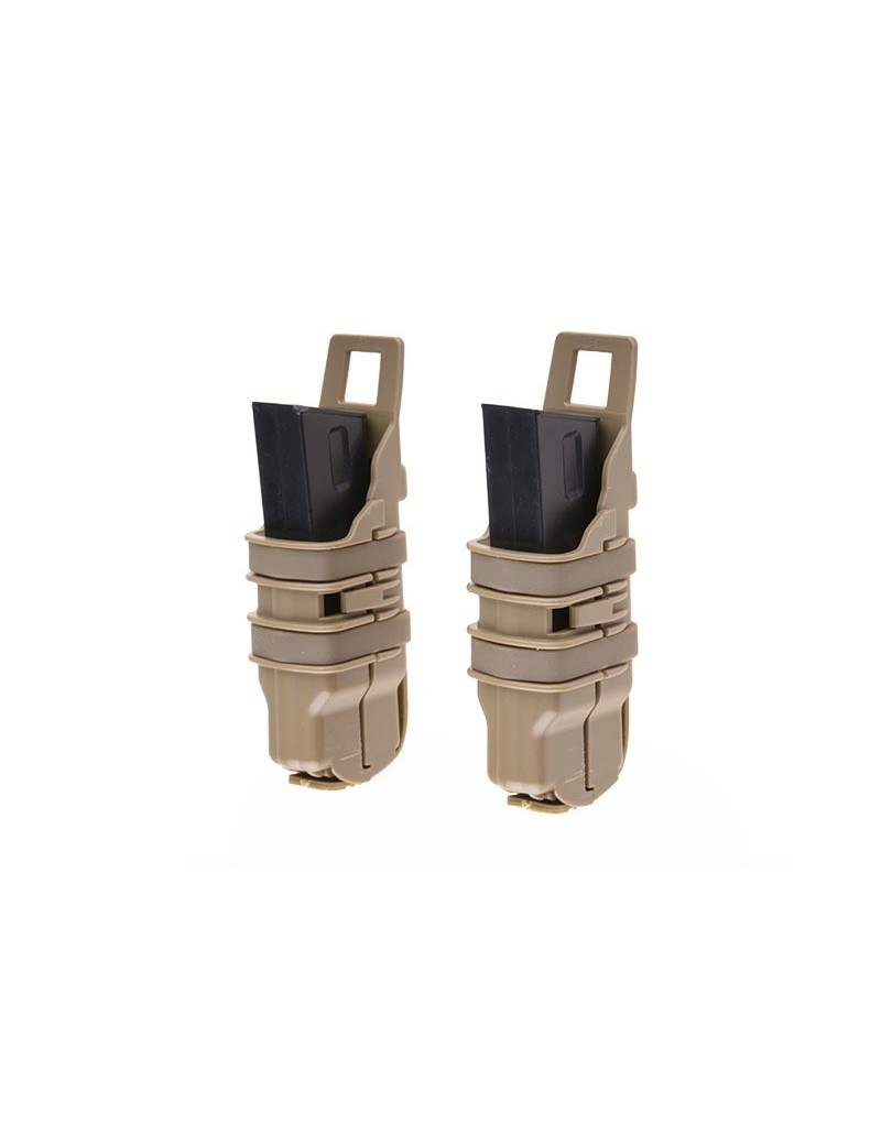 Double Open Pistol Mag Pouch - Olive Drab [Primal Gear]