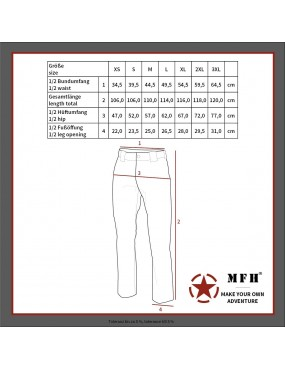 Calças US ACU Field - Tan [MFH]