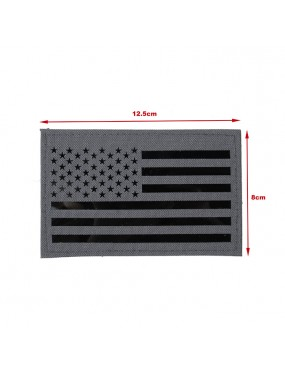 US Flag Infrared Large Patch - Wolf Grey [TMC]