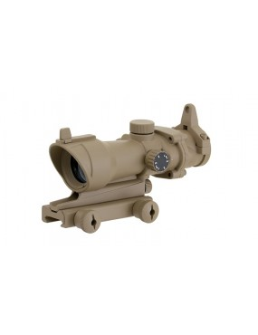 1X32 Rifle Red Dot Sight - Dark Earth [Aim-O]