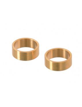 Barrel Copper Ring 2pcs...
