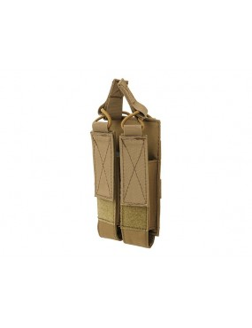 Double Magazine Pouch MP5/MP7/MP9 - Coyote [8Fields]